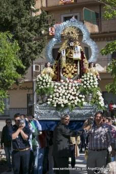 Bajada de la Virgen, Pascuamayo 2016