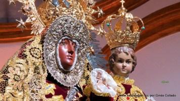 Virgen del Collado en la Ermita, Domingo de Pentecostés 2016