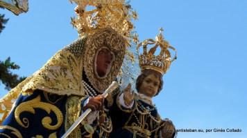 Subida de la Virgen Lunes de Pentecostés 2016