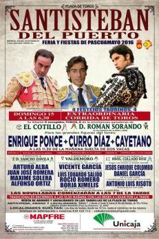 Festejos Taurinos Santisteban 2016 Collado Ruiz