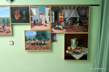 Oficios, paisajes y bodegones de Juan Manuel Soriano