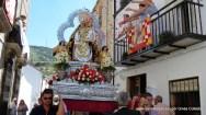 Nuestra señora del Collado en procesión hacia la ermita