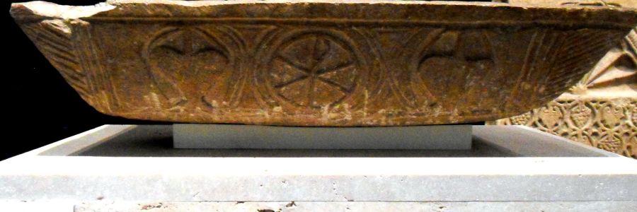 Pila Bautismal Visigoda de Santisteban del Puerto en el Museo Arqueológico