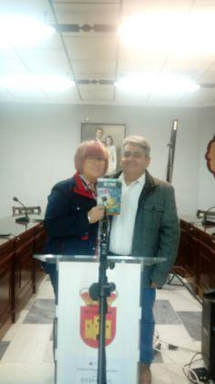 Urbano y Mari, autora de la portada