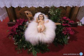 NIño Jesús, nacimiento de la Parroquita de San Esteban
