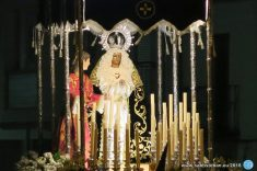 Procesión Jesus de la Caída - Virgen de los Dolores y San Juan Evangelista 2018