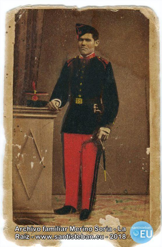 Mi tatarabuelo Juan Soria Muñoz, natural de Siles. Retrato de la década 1880-1890.