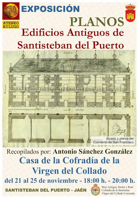Exposición Antiguos Planos de Santisteban