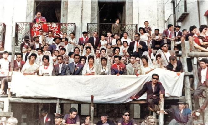 Mayordomia 1960-1961, de la Fototeca de El Chinero