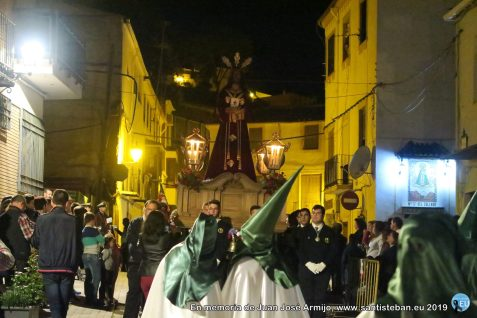 """Martes Santo - Procesión de Jesús Orando en el Huerto y Jesús Preso """"Cristo de Medinaceli"""""""