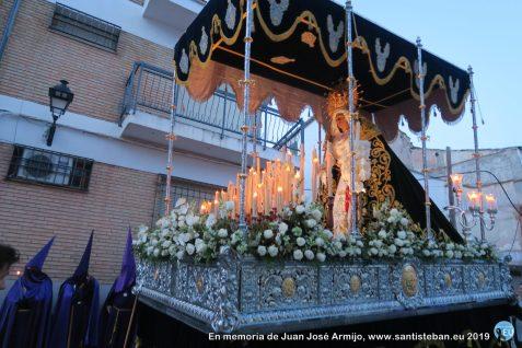 Virgen de la Amargura. Encuentro en la madrugá 2019