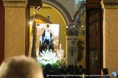 Salida de la Virgen de la Soledad - Viernes Santo Santisteban 2019