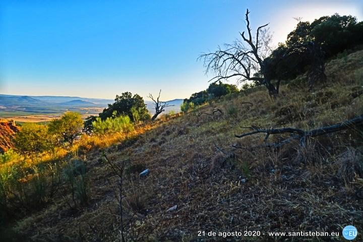 Ladera del cerro San Marcos