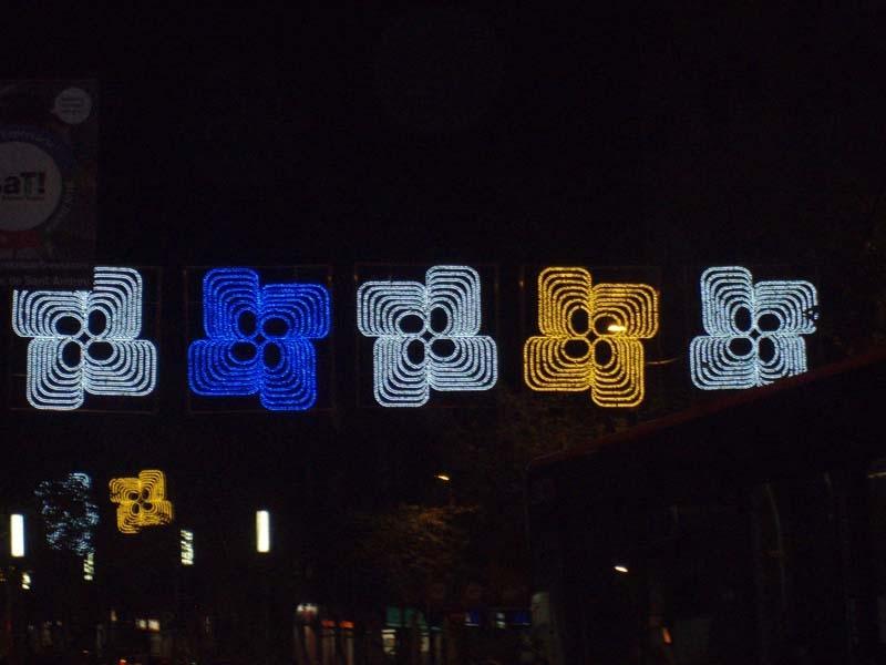 Sobre les llums de Nadal a Barcelona  Manifiesto