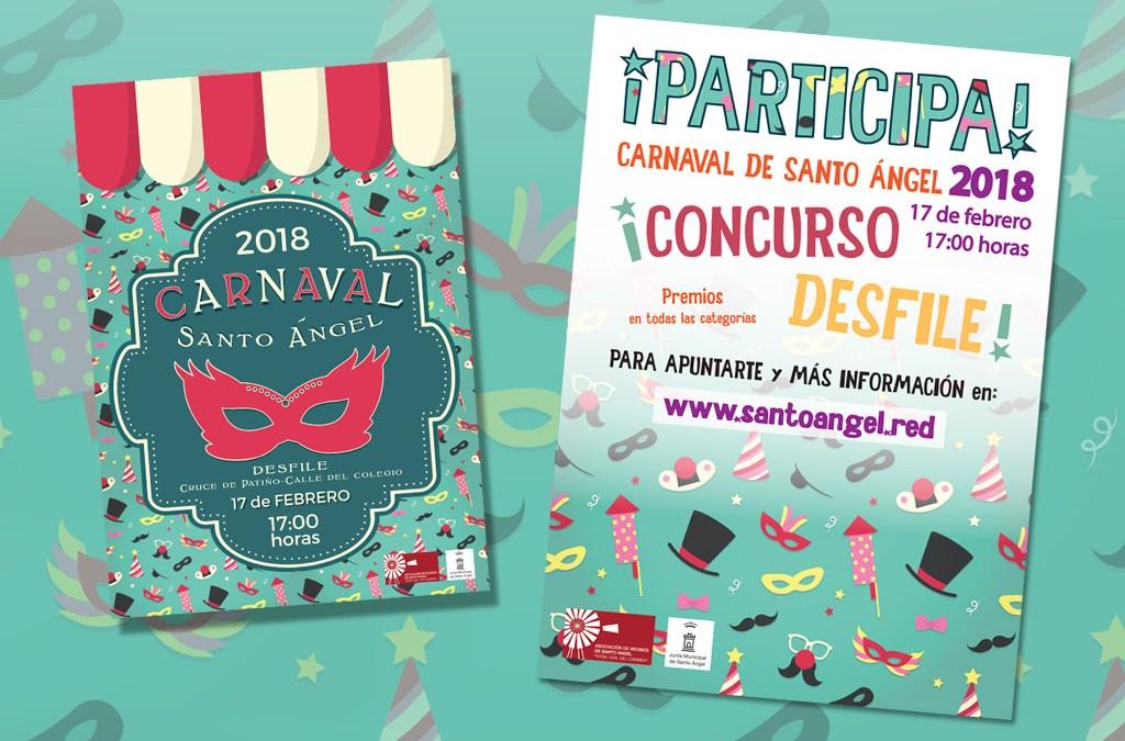 Sábado 17 de febrero 2018 gran desfile de Carnaval