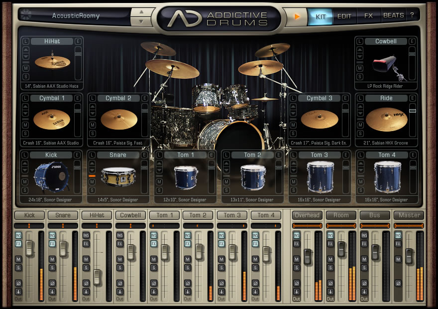 Addictive Drums by XLN Audio