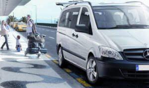 white van in santo domingo - santo domingo taxi