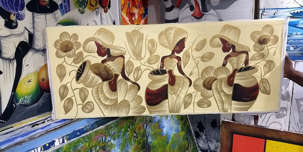 Dominican Republic Souvenirs -Paintings