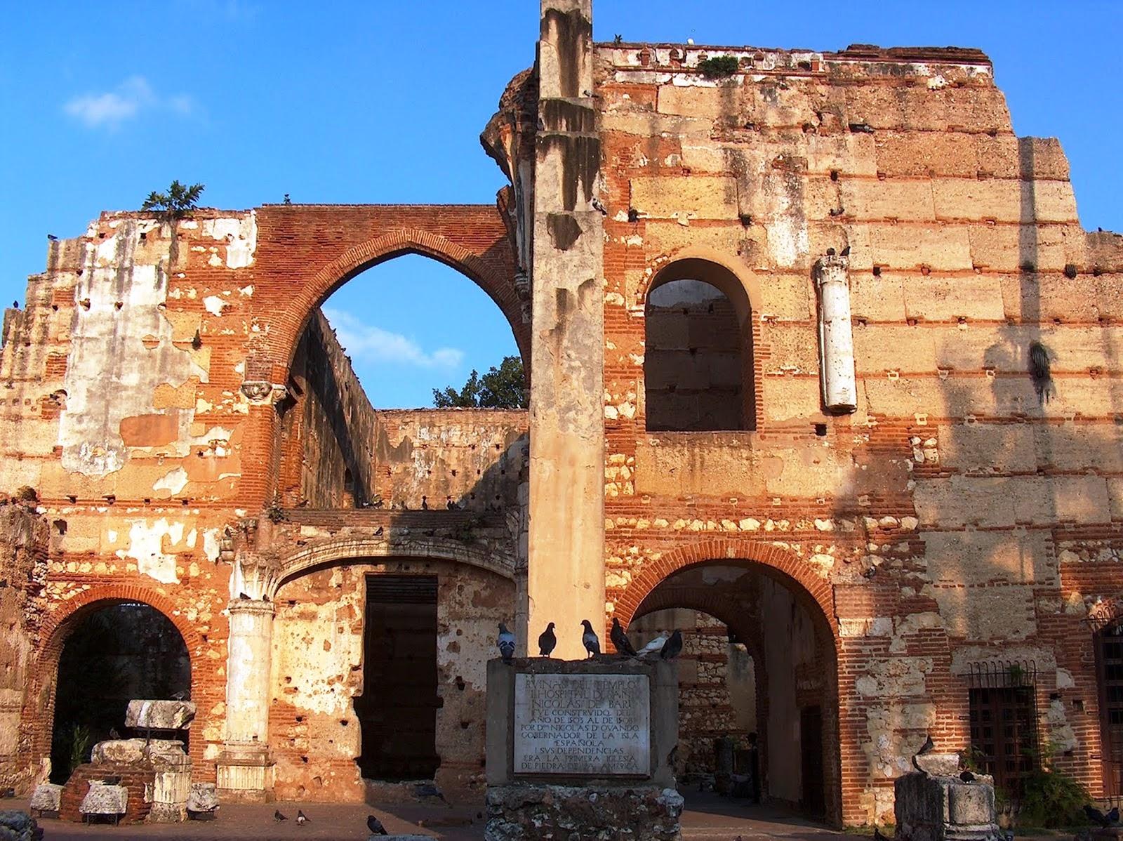 Ruins of the Hospital Nicolas de Ovando Colonial Zone