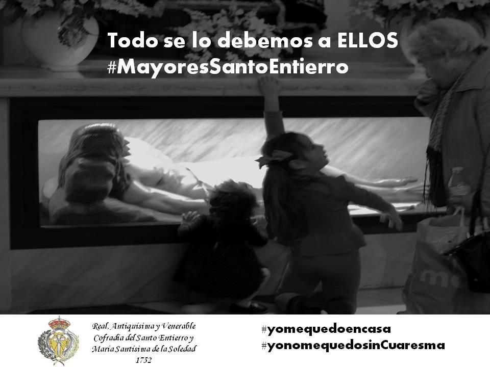 """#MayoresSantoEntierro. Una iniciativa para combatir la """"soledad"""""""
