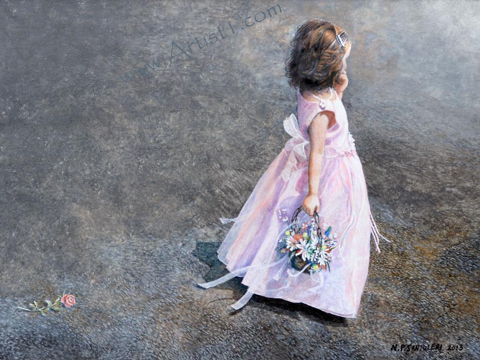Flower Girl Santoleri