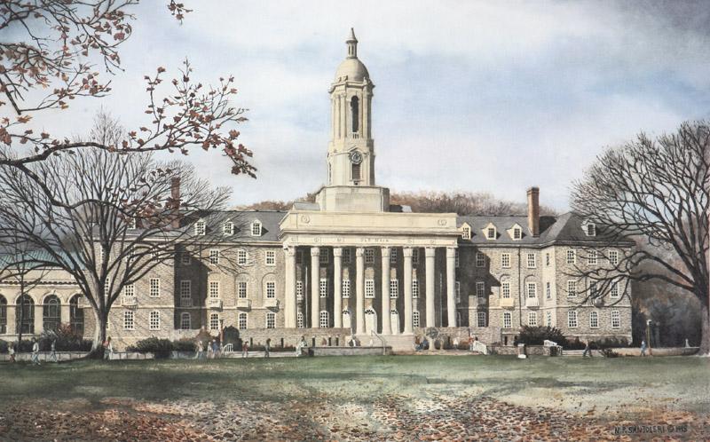 Penn State Old Main Santoleri
