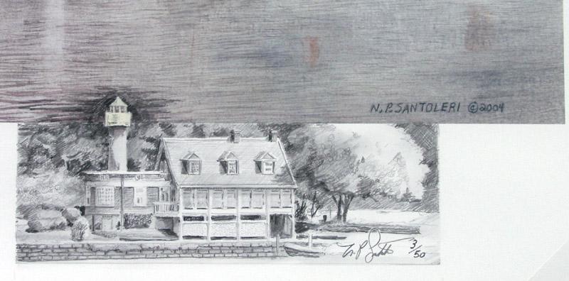 Remarque Print Detail by N. Santoleri