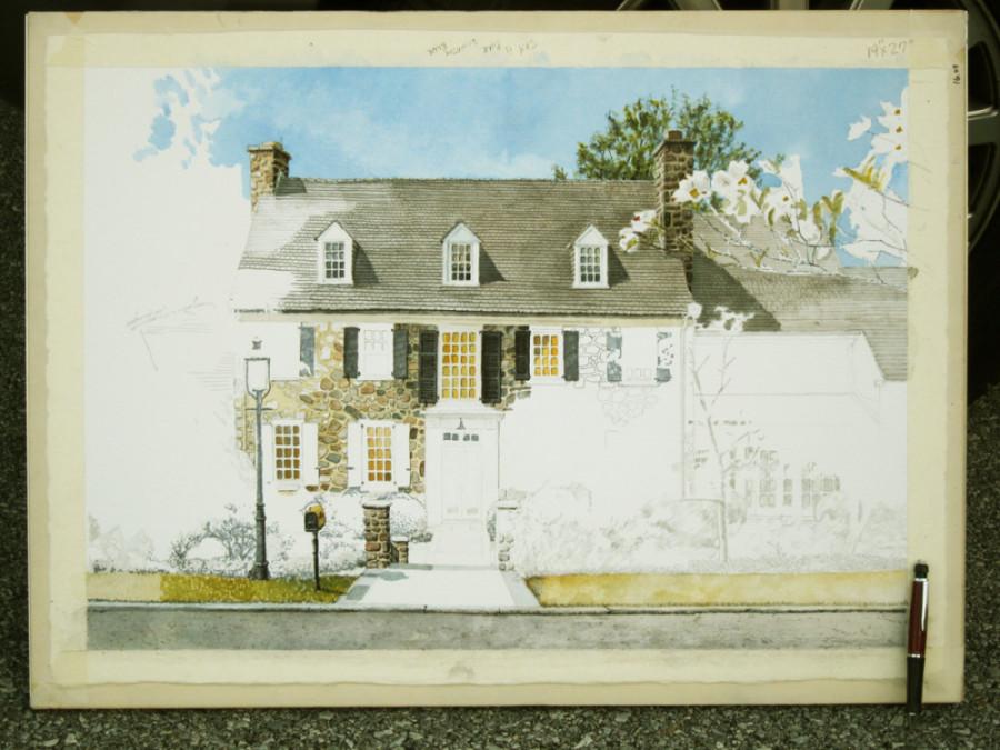 09 painting in progress