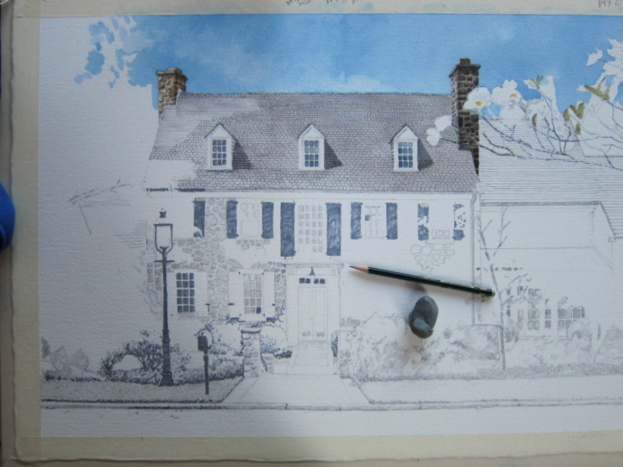 07 Start painting