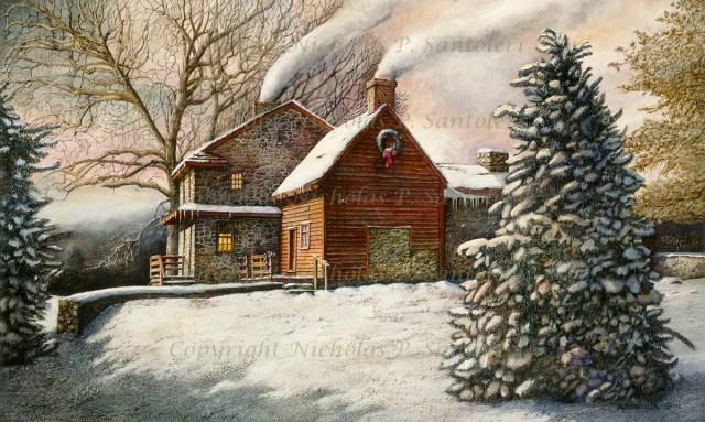 Brandywine Christmas by Nicholas Santoleri