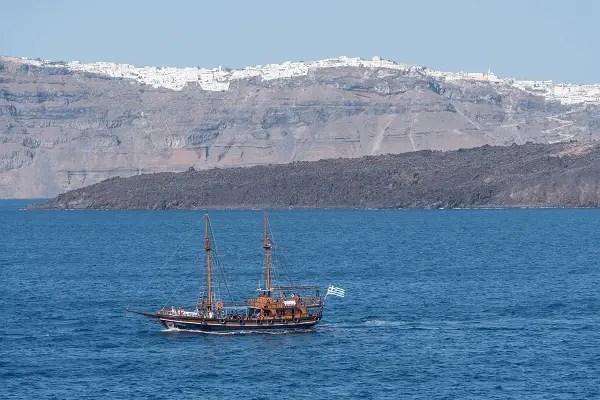Santorin Sortie en bateau