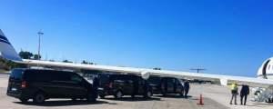 Santorini Airport Shuttle Taxis Coach Shared Ride Transfers