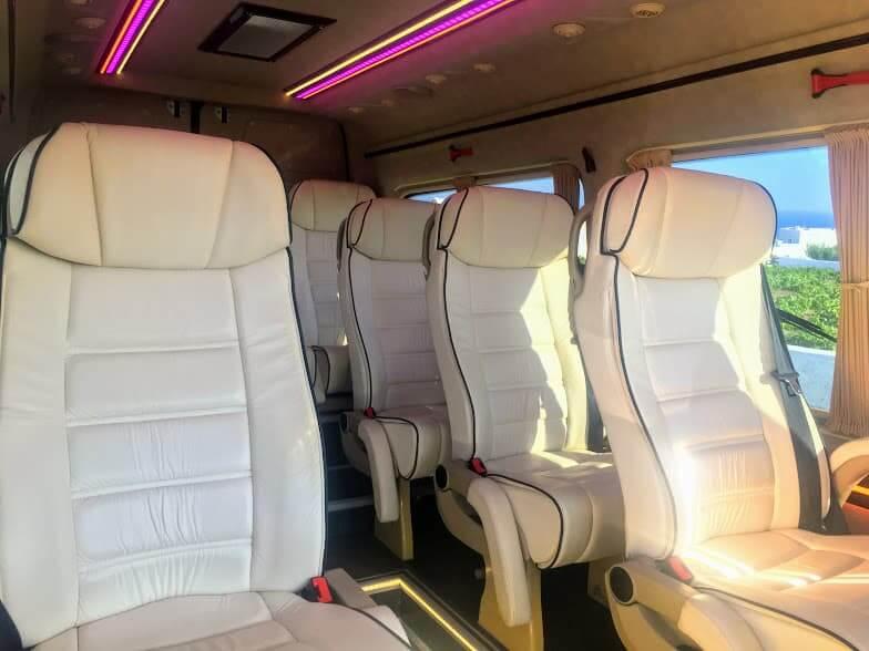 Santorini Airport Private Shuttle Vans