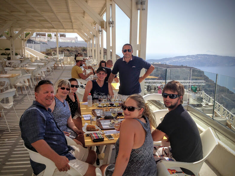 Santorini Sights & Wine Tasting
