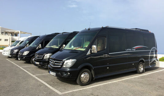 Santorini Port Taxi Transfers, Shared Transfer, Shuttle, Bus, Tours