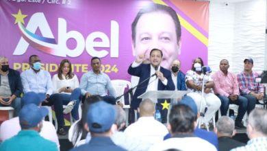Photo of Abel Martínez recibe un contundente recibimiento en Santo Domingo Este