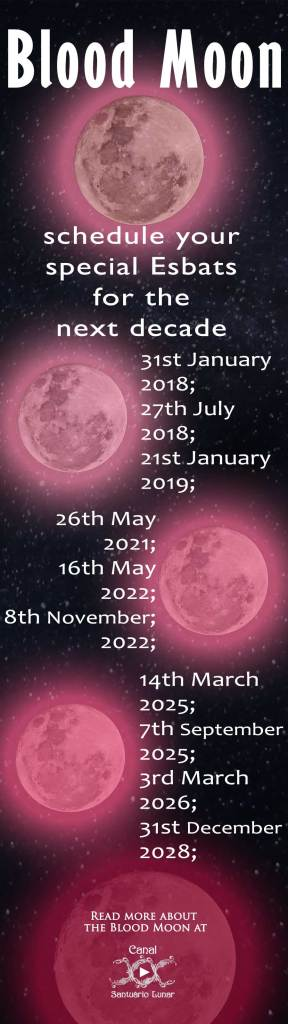 What is a Blood Moon - Definition, calendar and a spell for prosperity!