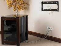 SANUS In-Wall Cable Management System For Mounted TVs
