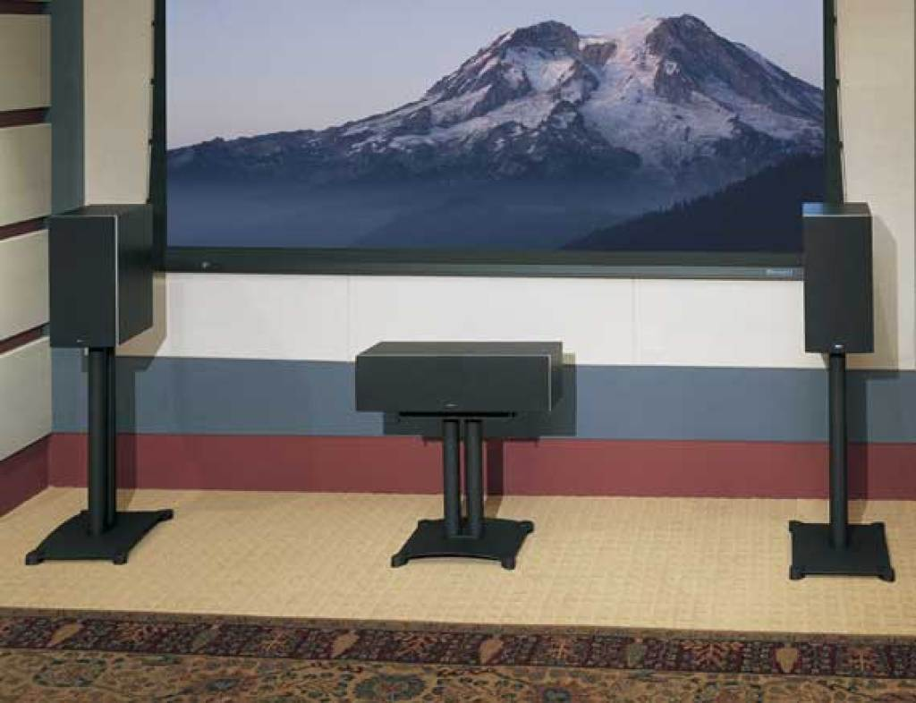 S18 Steel Series Center Chanel Speaker Stand