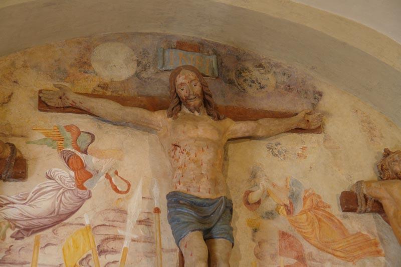Cappella della Crocifissione e Stabat Mater del Sacro Monte di San Vivaldo in Toscana