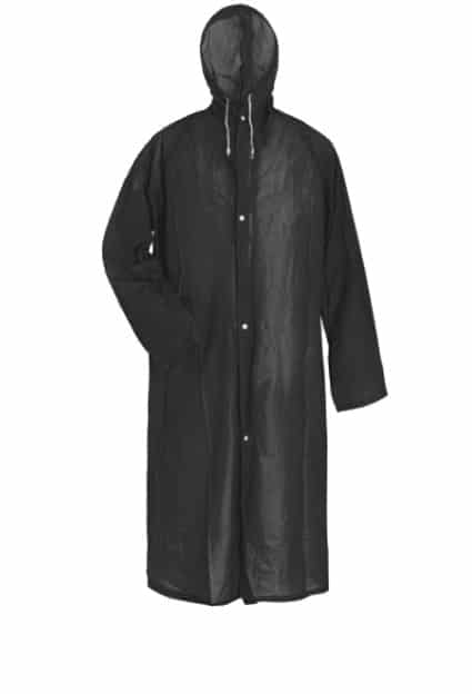 Raincoat – Black
