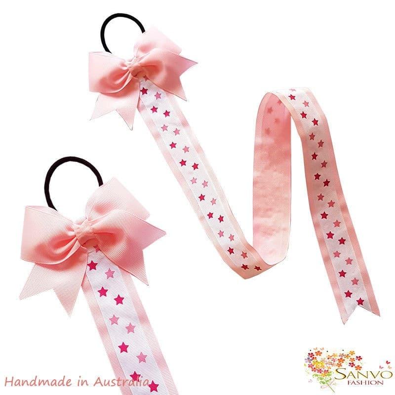 Sanvo Hair Bow Clip Organiser – Pink Colour