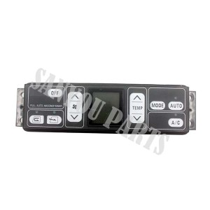 Komatsu PC200-7 20Y-979-7630 /146570-0160 /237040-0021 Air Conditioner Control Panel(Old)