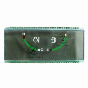 DH225-7 LCD Screen Gauge Cluster Excavator Parts