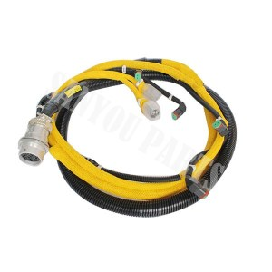 Komatsu PC400-7 6156-81-9211 Wiring Harness, Power Train Harness, Engine Harness