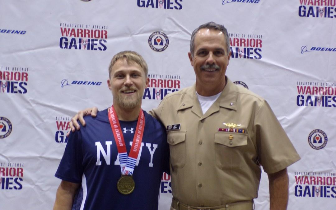 ASA O'Keefe lends leadership to Warrior Games