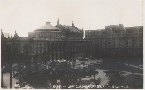 Theatro Municipal na década de 30