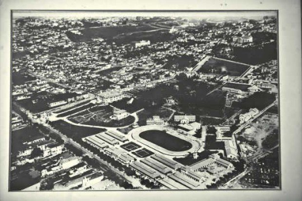 O parque da Água Branca no final da década de 40.