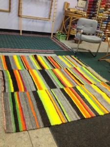 Kitchen rug 3 panels