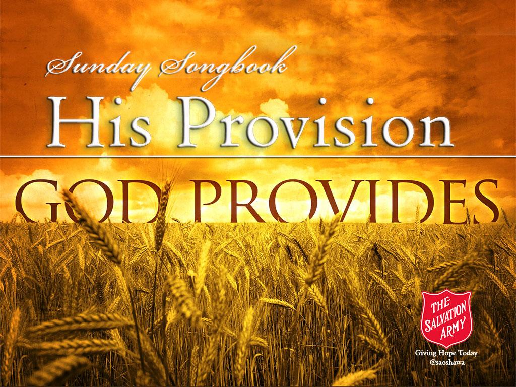His Provision